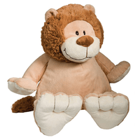 embroider a stuffed animal - lion