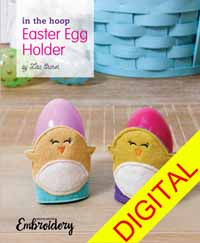 In-The-Hoop Easter Egg Holder