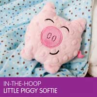 In-The-Hoop Piggie Softie – And It's Free!