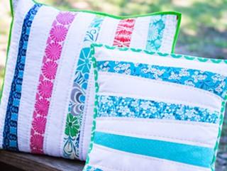 Crafty Gemini pillows