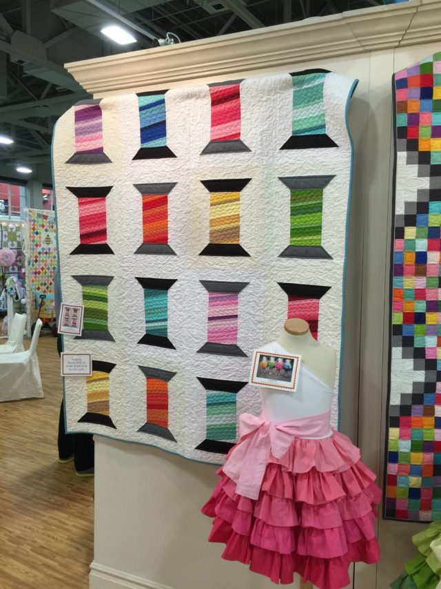 Another Great quilt in the Riley Blake Booth