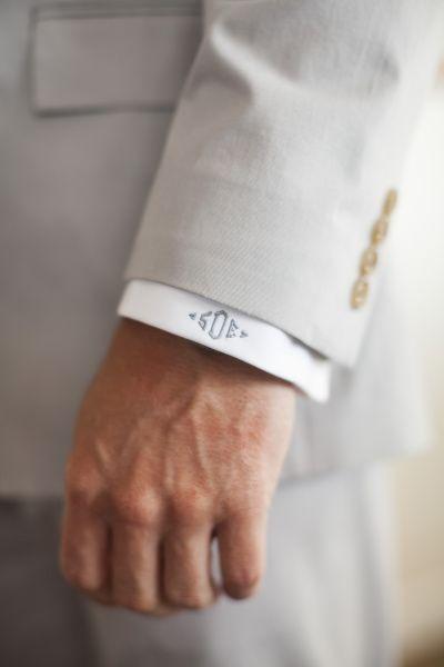 monogram cuff