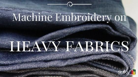 Machine Embroidery header