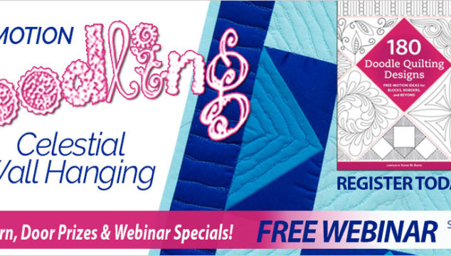 FREE Sulky Webinar – Free Motion Doodling Celestial Wall Hanging
