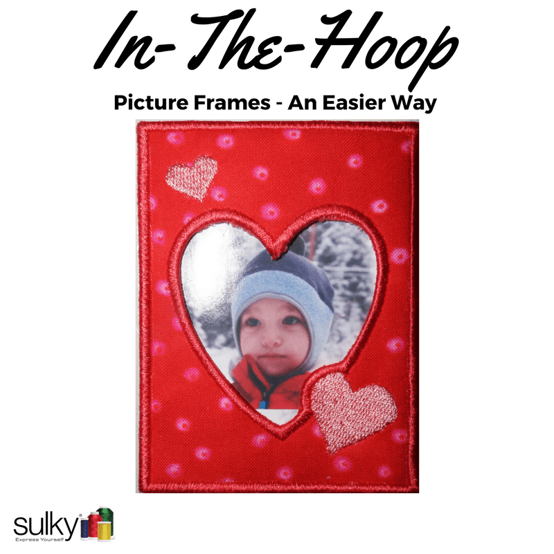 In-The-Hoop Projects and Photo Frames - A Better Way (& a ...