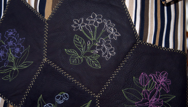 Machine Embroidery Series: Leather