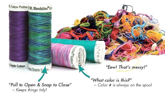 April Spools Day – Tame the Tangle