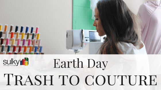 Earth Day Featured Artist: Laura Pifer from Trash to Couture