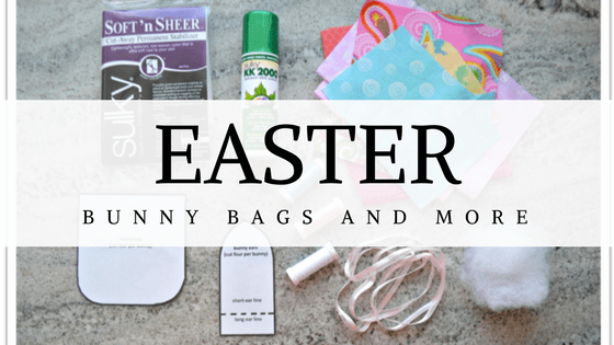 Just in Time for Easter: Bunny Bags and more!