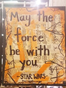 May the force be with you art from Pinners Conference and Expo in Atlanta 2017