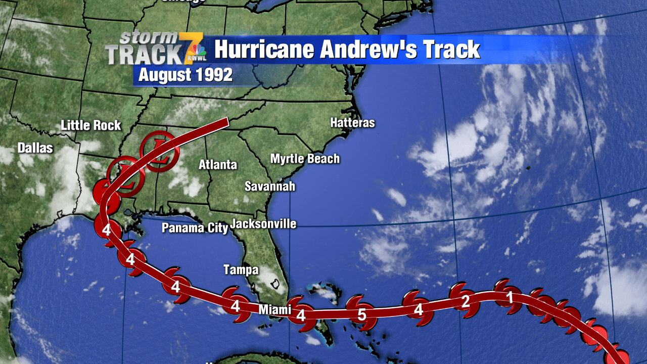 Natural Disaster Hurricane Andrew