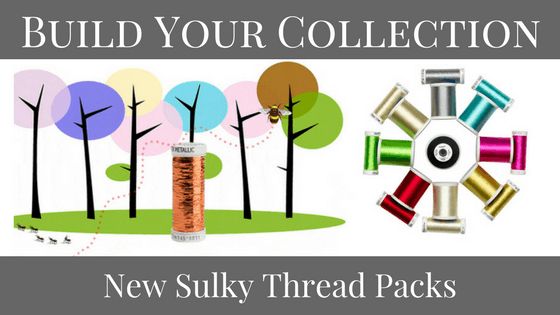 Build Your Collection: New Sulky Thread Packs + 20% off Sale
