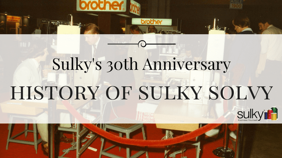 Sulky's 30th Anniversary: The History of Sulky Solvy