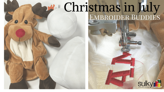 Christmas in July – Christmas Embroider Buddies