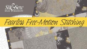 free motion stitching Eric Drexler