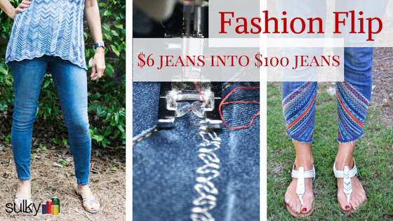 Fashion Flip: Turn $6 Jeans into $100 Jeans