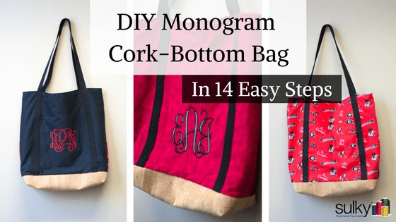 Cork Bottom Tote in 14 Easy Steps