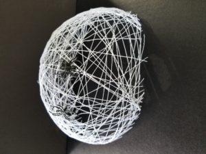 spooky solvy spider web