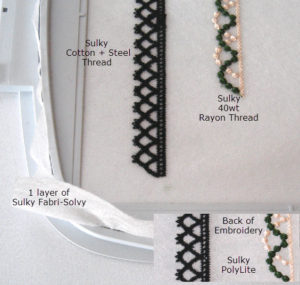 Mastering Free-Standing Lace