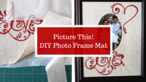 Picture This - DIY Photo Frame Mat