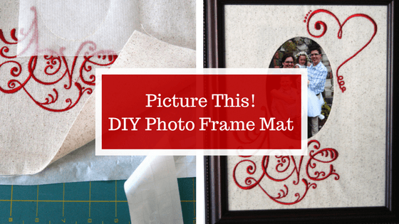 Picture This! DIY Photo Frame Mat