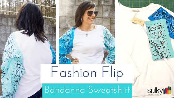 Fashion Flip | The Bandanna Sweatshirt