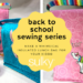 Back to School Sewing Series: Whimsical Insulated Lunch Bag - Unicorn Style