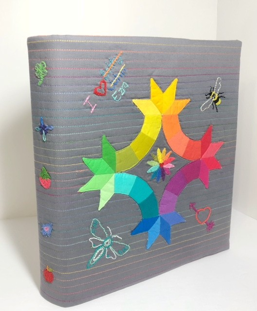 Back to School Sewing Series: Kwik Sparklers Binder Cover