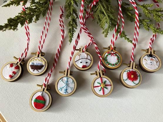 mini Christmas ornament