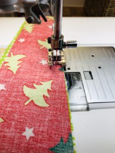 stitch wedges together