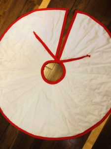 tree skirt backing