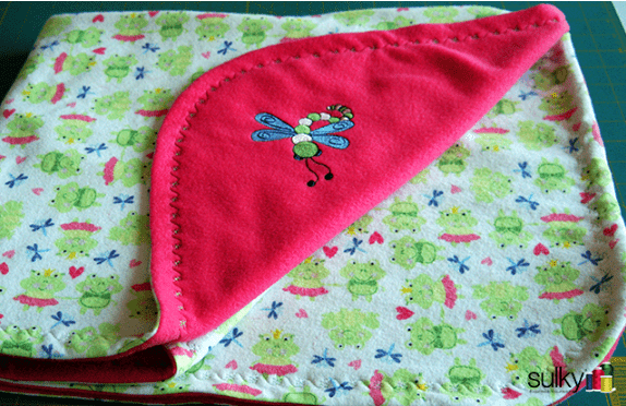 Gift to Sew Baby blanket