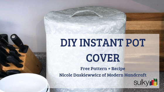 diy instant pot cover free pattern and instant pot recipe