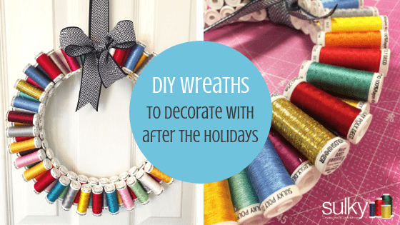 diy wreaths to decorate with after the holidays