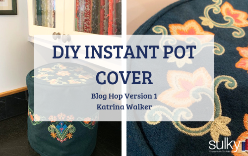 diy instant pot cover - katrina walker