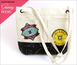 sew4home sewing patches tote