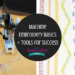 machine embroidery basics and tools for success