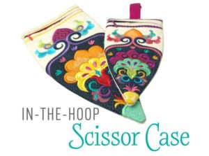 in-the-hoop scissor case