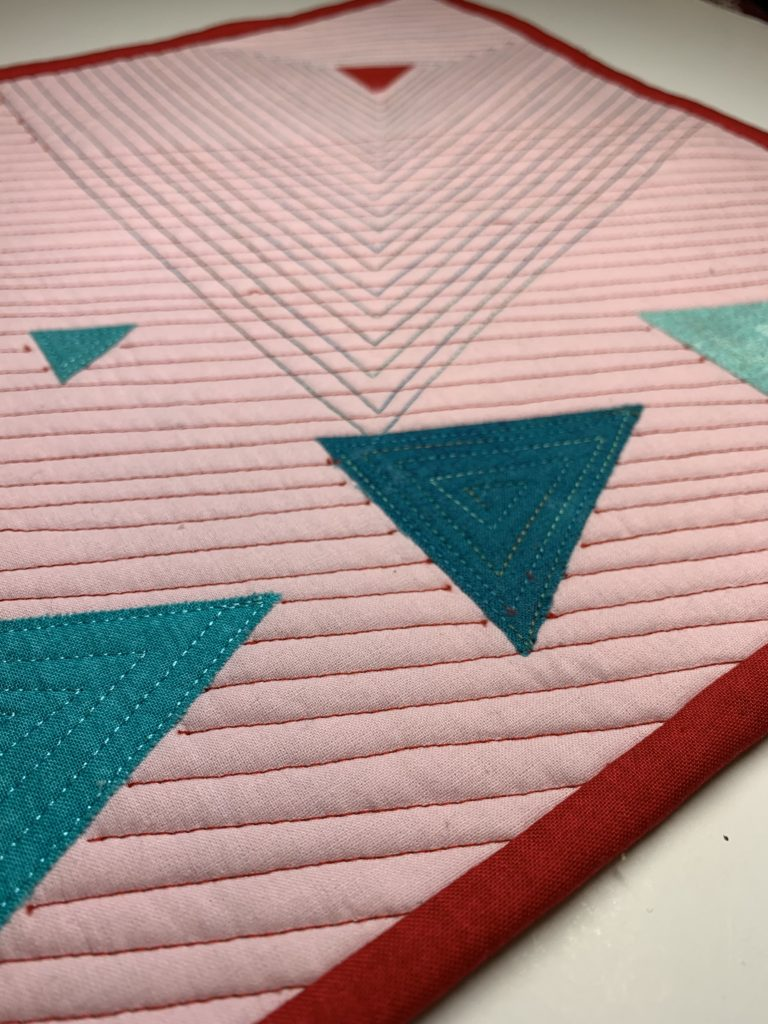 modern quilt design quilted texture