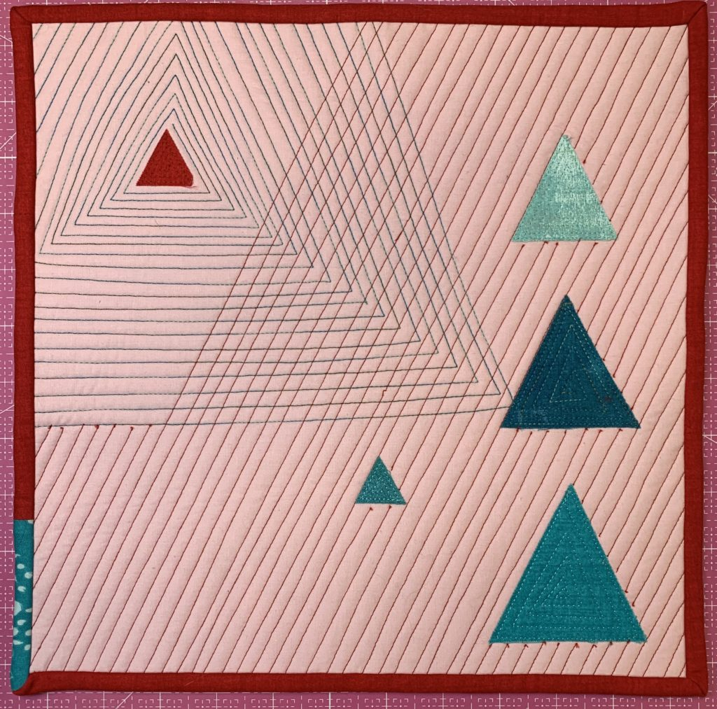 modern quilt design finished quilting