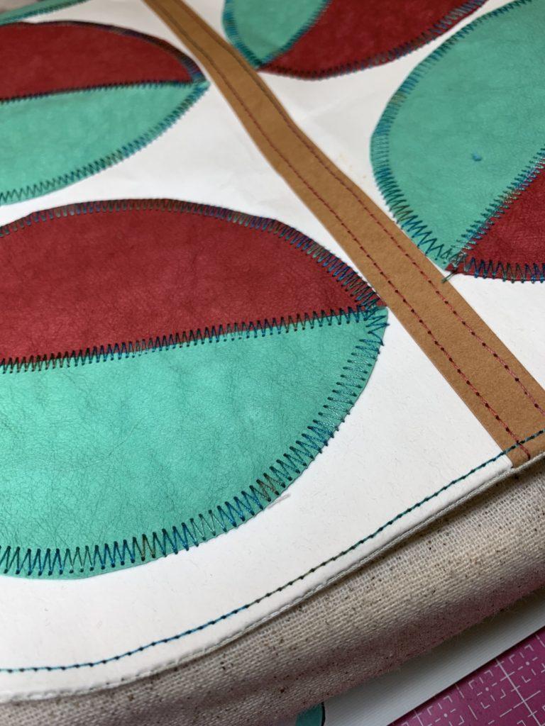 Sew a kraft-tex Bag