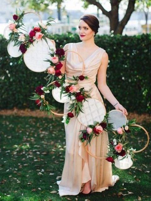 Sewing Inspired Wedding Ideas