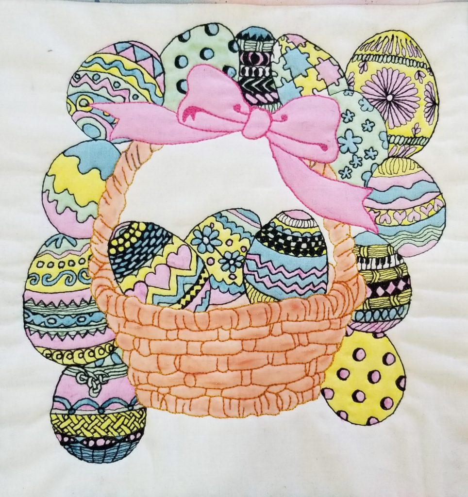 Easter projets to sew give