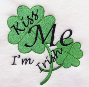 St Patrick's Day sewing projkects