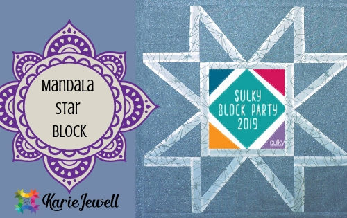 make a mandala block