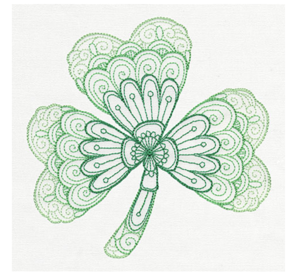 St Patricks Day Embroidery Design