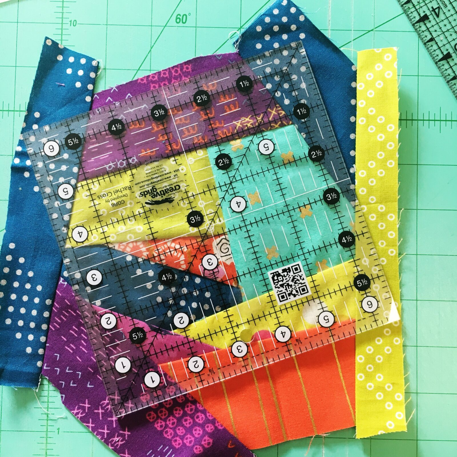 Scrappy Quilt Block by Amy Ellis - Sulky
