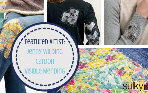 visible mending jenny wilding cardon