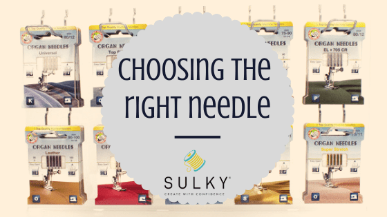 choosing the right needle