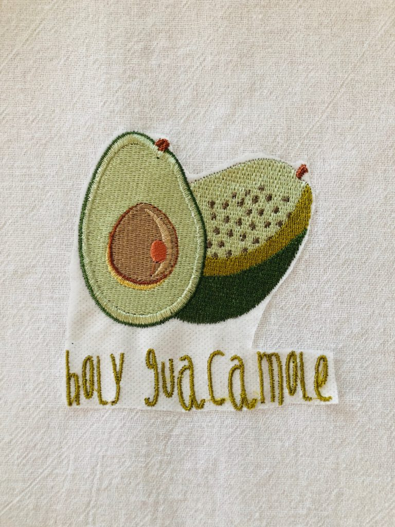 Cinco de Mayo embroidery
